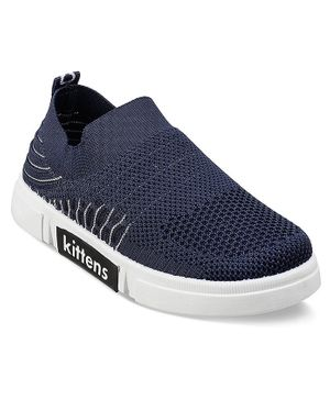 Kittens Shoes Solid Sneakers - Navy Blue