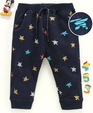 Babyhug Full Length Lounge Pant  - Navy