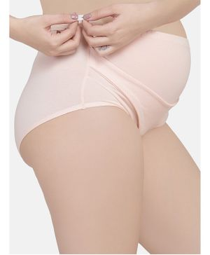 Mamma Presto Adjustable Band Briefs - Beige