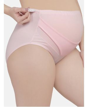 Mamma Presto Adjustable Band Briefs - Pink