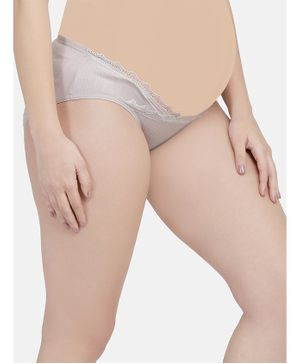 Mamma Presto Low Rise Maternity Panty - Grey