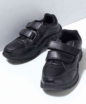 Cute Walk by Babyhug School Shoes - Black