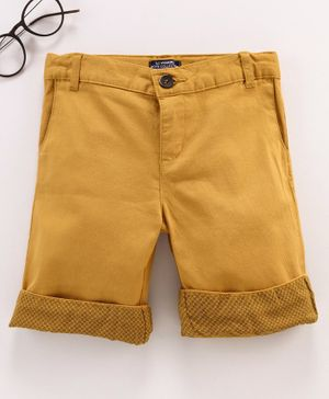 LC Waikiki Solid Colour Shorts - Brown