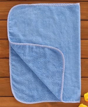 Babyhug Solid Towel - Blue