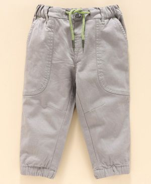 Babyoye Cotton with Inner Linning Trousers - Grey