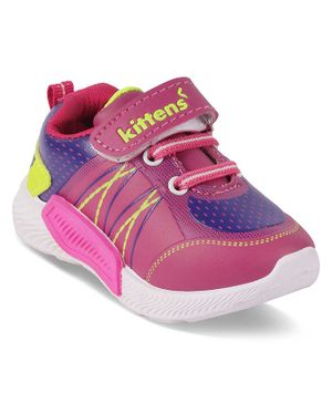 Kittens Shoes Velcro Closure Shoes - Pink