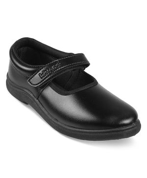 Kittens Shoes Velcro Closure School Shoes - Black