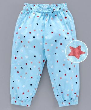 Babyoye Full Length Pant Star Print - Blue