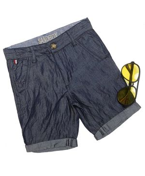 The Sandbox Clothing Co Knee Length Half Shorts - Blue