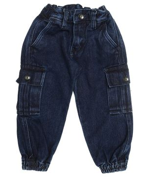 The Sandbox Clothing Co Denim Cargos Pants - Dark Blue