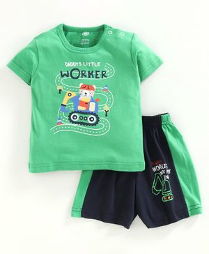3-pack Multicoloured Winter Green Care Baby Boys Bard T-Shirt 56