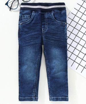 Jash Kids Full Length Denim Jeans - Dark Blue