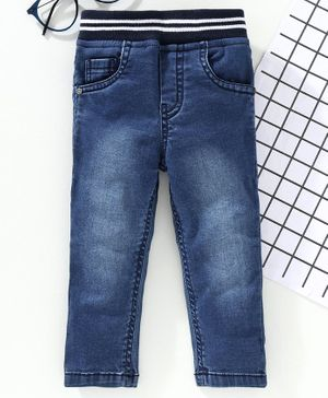 Jash Kids Full Length Denim Jeans - Blue