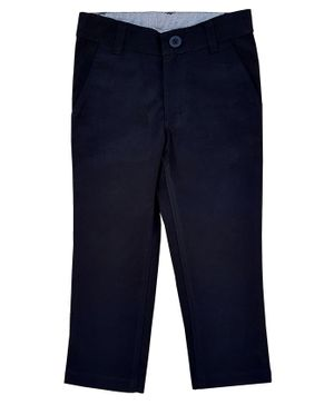 Campana Solid Trousers - Black