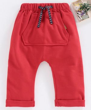 marshmallow Full Length Lounge Pant - Red