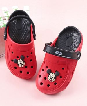 Disney Mickey Mouse Clogs - Red
