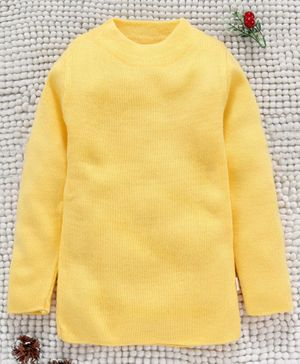 Yellow Apple Full Sleeves Winter Wear Tee - Yellow