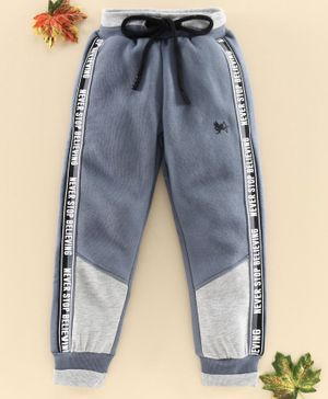 Stupid Cupid Side Tape Detailed Track Pants - Grey