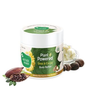 Mother Sparsh Plant Powered Shea & Cocoa Body Butter - 100 gm