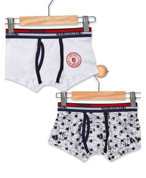 Jockey Pack Of 2 Printed Assorted Trunk - Multi Colour