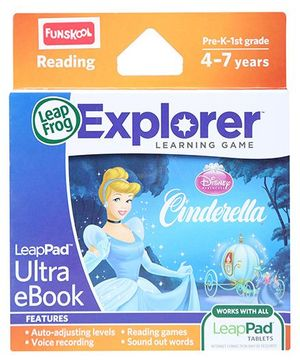 Leap Frog Explorer Learning Game - Disney Cinderella