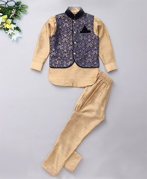 Little Bull Three Piece Ethnic Clothing Set