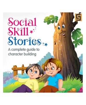 Golden Sapphire Book Social Skills Stories - English