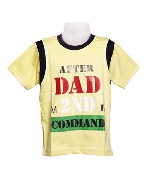 T-Shirt - After Dad I'm 2nd in Command