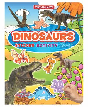 Sticker Activity Book Dinosaurs - English