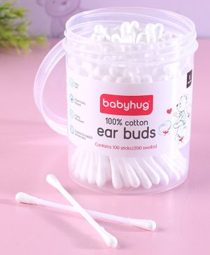 Babyhug Cotton Buds - 100 Pieces
