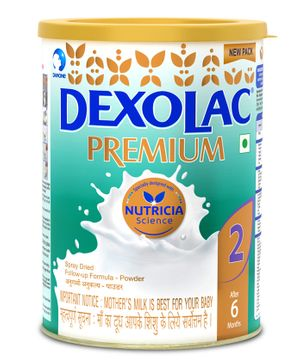 Dexolac Premium 2 Follow Up Formula - 500 gm Tin