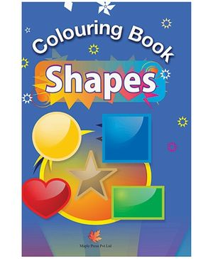 Colouring Book Shapes - English