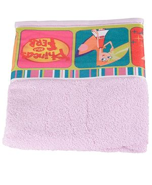 Disney Phineas And Ferb Towel - Pink