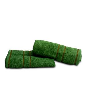 Sassoon Sandy Cotton Towel - Green