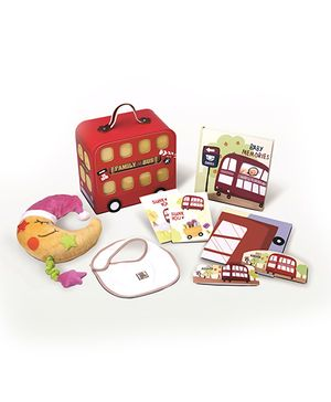 Gifthing Family Bus Hamper - Multicolor