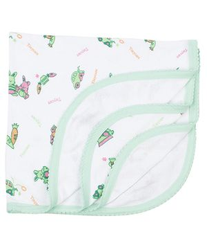 Tinycare Bath Towel - Green