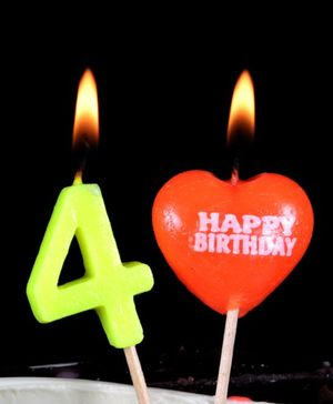 Funcart Number 4 Pick Style Candle