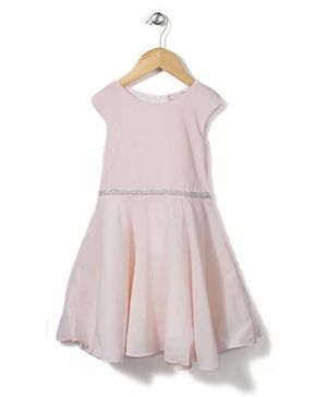 Little Coogie Dress - Peach