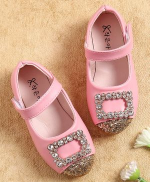 KIDLINGSS Glitter Beads Embellished Bellies - Pink