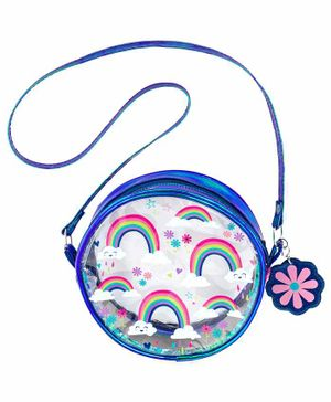 Stephen Joseph Sling Bag Rainbow Print - Blue