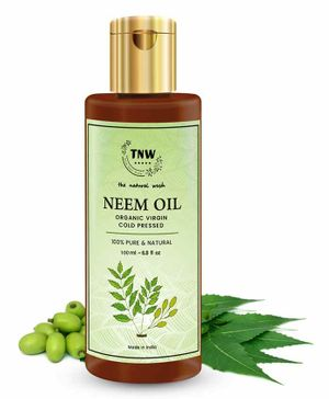 TNW THE NATURAL WASH Pure Cold Pressed Neem Oil for Skin & Hair (100 ml)