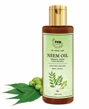 TNW THE NATURAL WASH Pure Cold Pressed Neem Oil for Skin & Hair (200 ml)