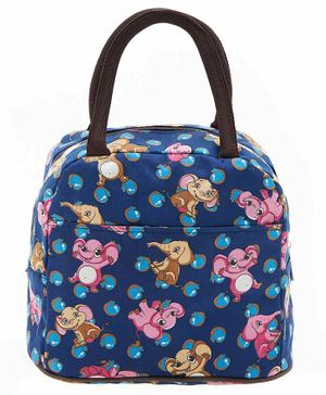 EZ Life Carry Bag Elephant Print - Navy Blue