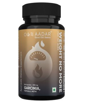 AAdar Weight No More Weight Loss Supplement - 120 Capsules