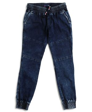 Pepe Jeans Boy Solid Full Length Jeans - Dark Blue