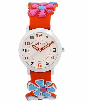Kool Kidz Analogue Watch - Red