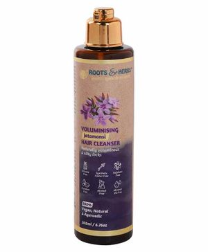 Roots and Herbs Jamtamanasi Hair Cleanser - 200 ml