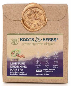 Roots and Herbs Jojoba Hair Spa - 100 gm