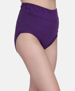 Fashiol Cotton High Waist Plus Size for Women Full Coverage Soft Comfortable Underwear - Assorted