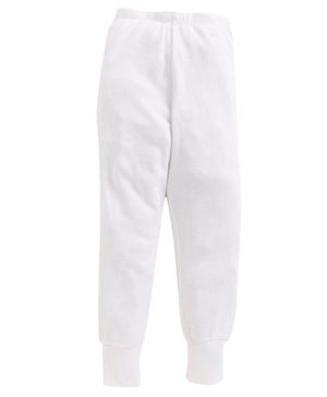Charm n Cherish Solid Full Length Thermal Pant - White
